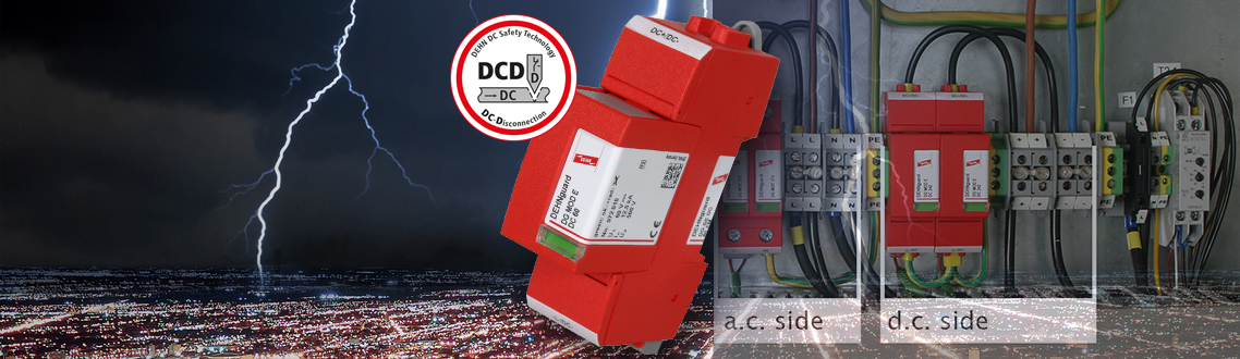 DEHNguard® SE DC for d.c. circuits
