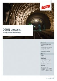 DEHN protects the Gotthard Rail Link