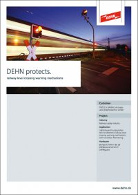 DEHN protects level crossing safety systems
